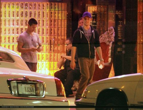 FEB 2, 2011 - Alex Pettyfer Evening / Night out
