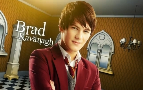 The House of Anubis wallpaper containing a business suit called Fabian