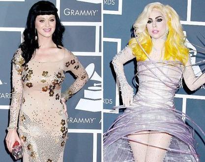Gaga and Katy