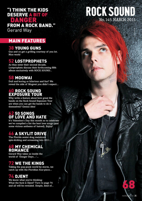 Gerard Way Magazine