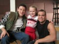 Glee-Avery (Mini Quinn), Puck, and Finn - quinn-and-puck photo