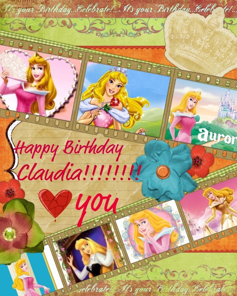 Happy birthday fanpop users happy birthday claudia