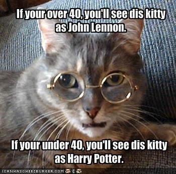 Harry Potter Vs...John Lennon?