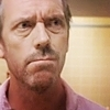 Dr. Gregory House photo with a portrait entitled House