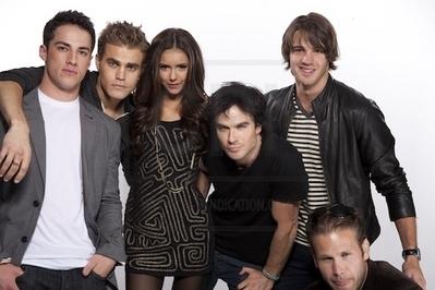 Ian & TVD Cast Shoot