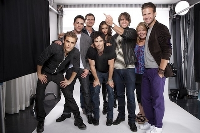 Ian & TVD Cast Shoot