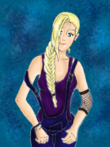 Naruto achtergrond possibly containing tights and a hip boot titled Ino