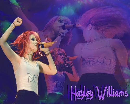 Just. Hayley.
