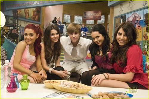 Justin and Victoria Justice