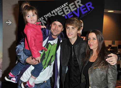 Justin ans family