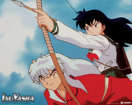 Kagomes first time shooting a arow - inuyasha Photo
