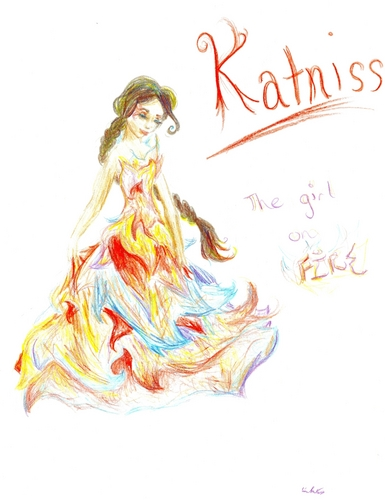 Katniss The Girl on Fire