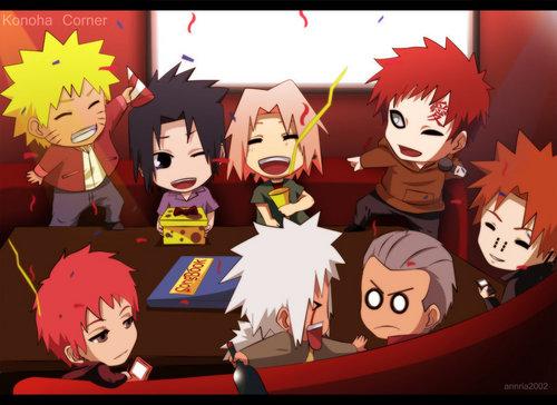 Konaha corner... Sasukes B-day:)