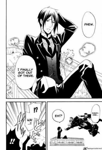 Kuroshitsuji [Black Butler] Chapter 50-53 Manga Scans