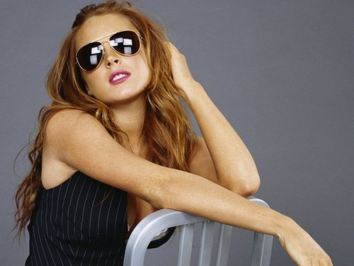 Lindsay Lohan wallpaper containing sunglasses entitled LILO