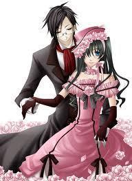 Lady Ciel and Sebastian