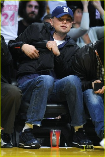 Leonardo DiCaprio: Sad The Lakers 迷失