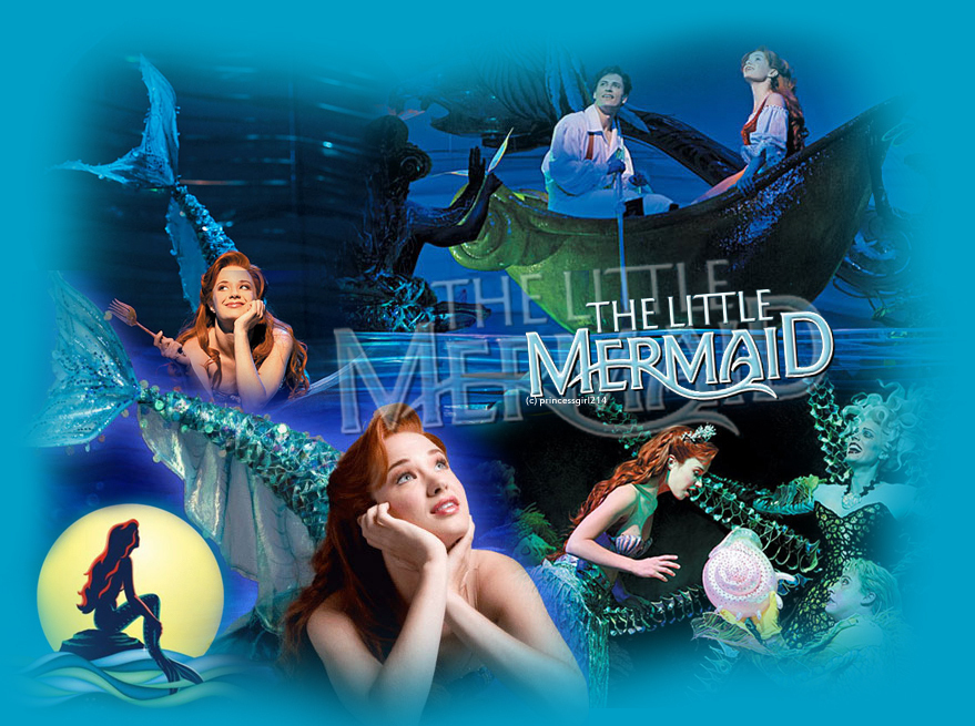 little mermaid wallpaper. Mermaid wallpaper