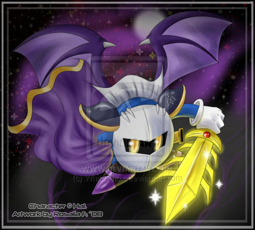 Meta Knight por WhitePhox on DeviantART