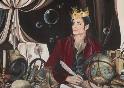 Michael Jackson Look King Of Pop!! Art!!!