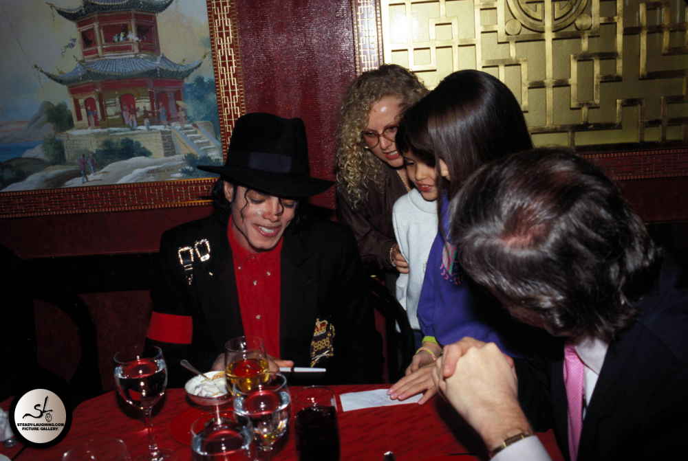 Michael Jackson at the Taj Mahal Opening!