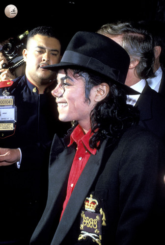 Michael Jackson at the Taj Mahal Opening!