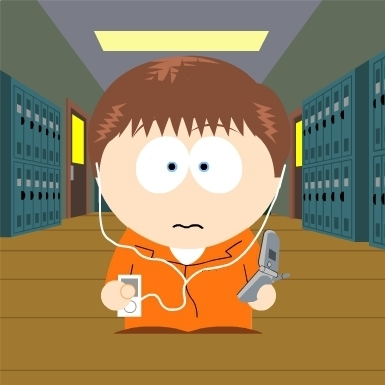 Misfits in South Park style-Simon:)