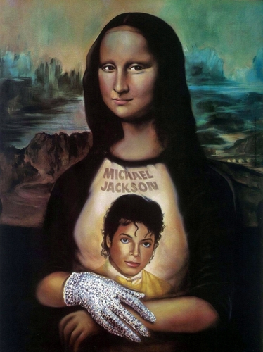 Mona Lisa is a shabiki of Michael!
