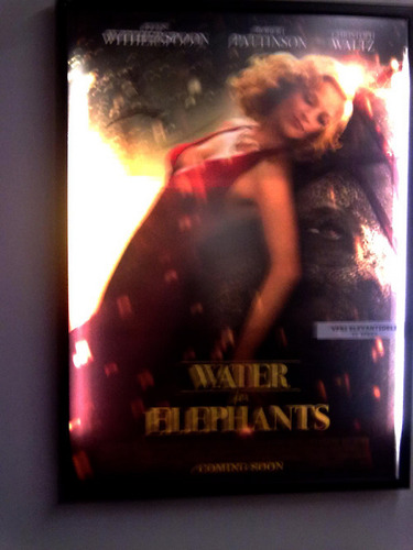 NEW Water For Elephants MOVIE POSTER -Reese&Rosie