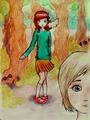 Naomi/Emily fã Art