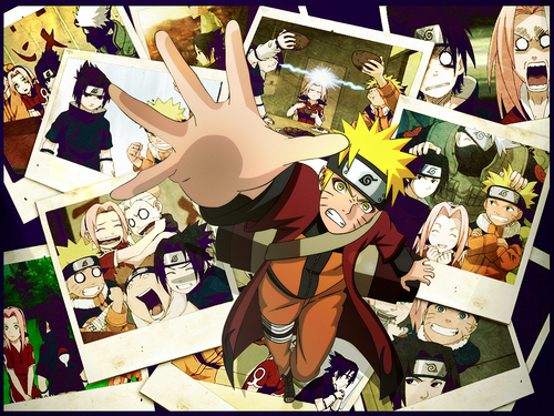 Naruto Memories-Team 7...The good old days