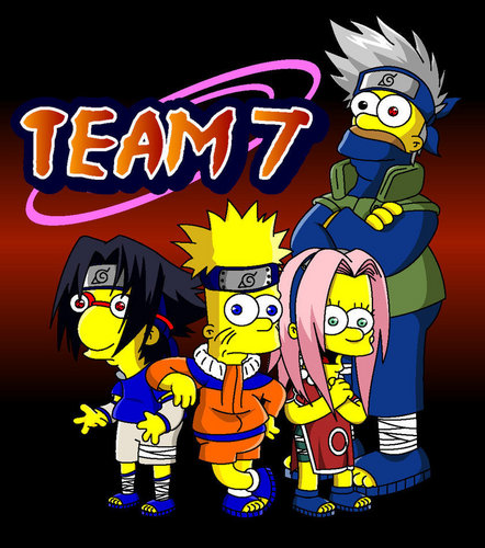 Naruto - The Simpsons Edition