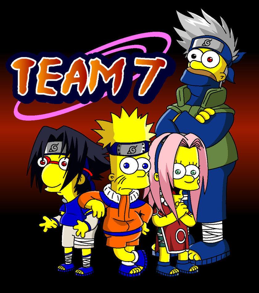 Naruto Naruto   The Simpsons Edition