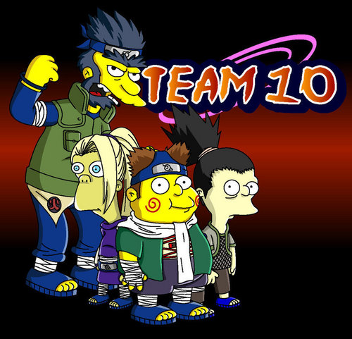 Naruto-The Simpsons Edition