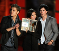 New/Old photos of Nina, Ian and Paul at the Scream Awards 2010. (HQ) - the-vampire-diaries-tv-show photo