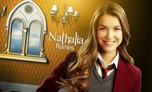 The House of Anubis wallpaper containing a well dressed person and a portrait called Nina