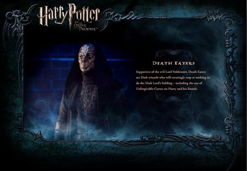 OOTP Character description - Death Eaters