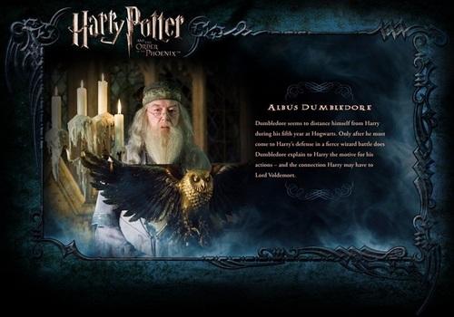 OOTP Character বিবরণ - Dumbledore