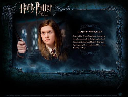 OOTP Character descripción - Ginny