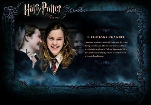 OOTP Character mô tả - Hermione