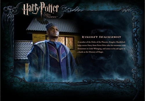 Harry Potter wallpaper entitled OOTP Character descrizione - Kingsley