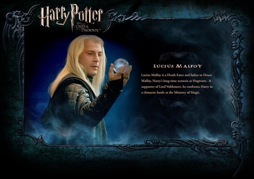 OOTP Character Description - Lucius Malfoy
