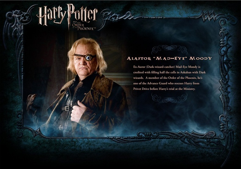 OOTP Character descrição - Mad-Eye Moody
