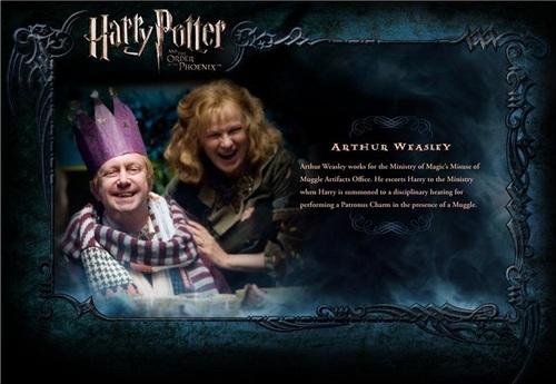 OOTP Character description - Mr. Weasley