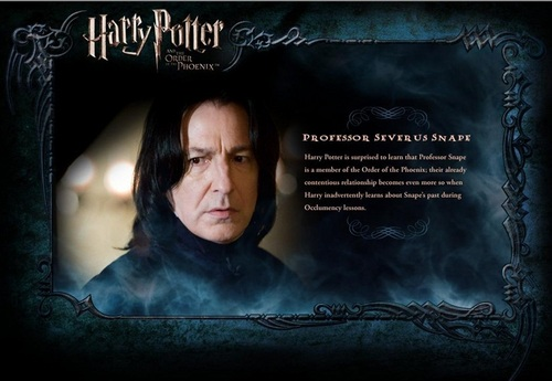 OOTP Character বিবরণ - Snape