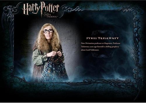 OOTP Character تفصیل - Trelawney