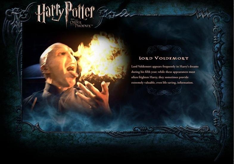 OOTP Character Description - Voldemort