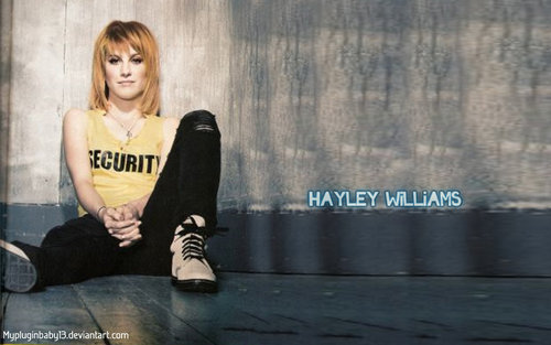 Paramore-Hayley wallpaper