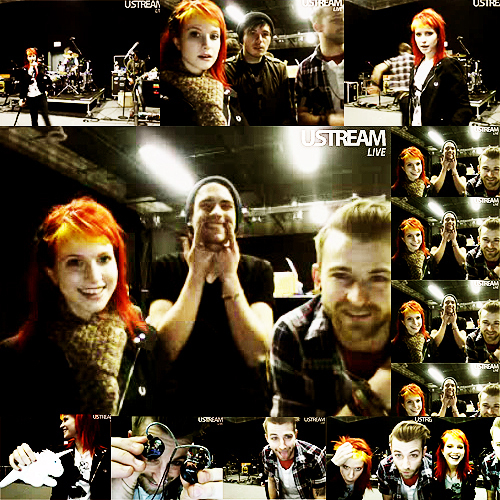 Paramore wolpeyper titled Paramore Live Stream