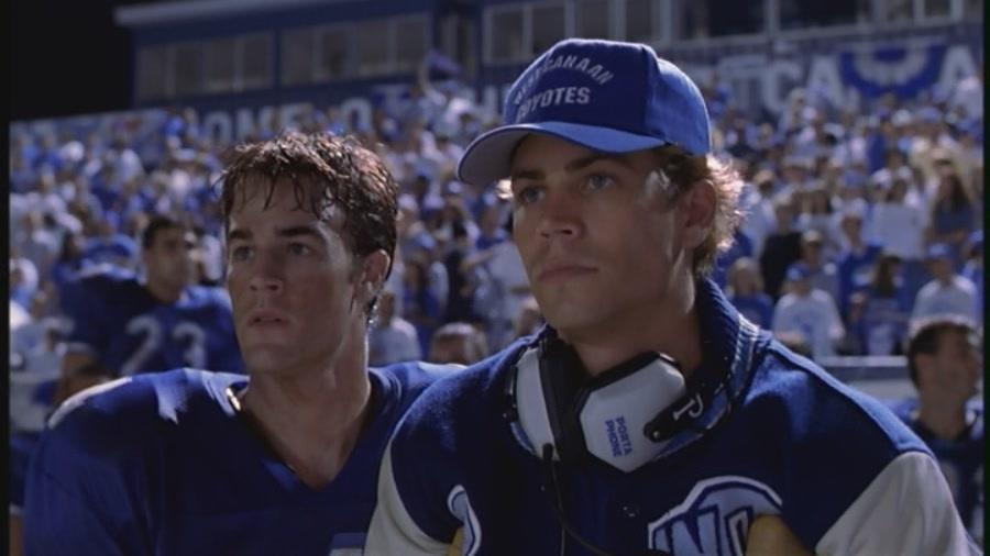 Paul in Varsity Blues